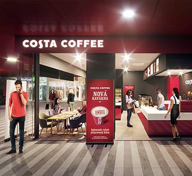 COSTA COFFEE NADRAŽÍ 2019