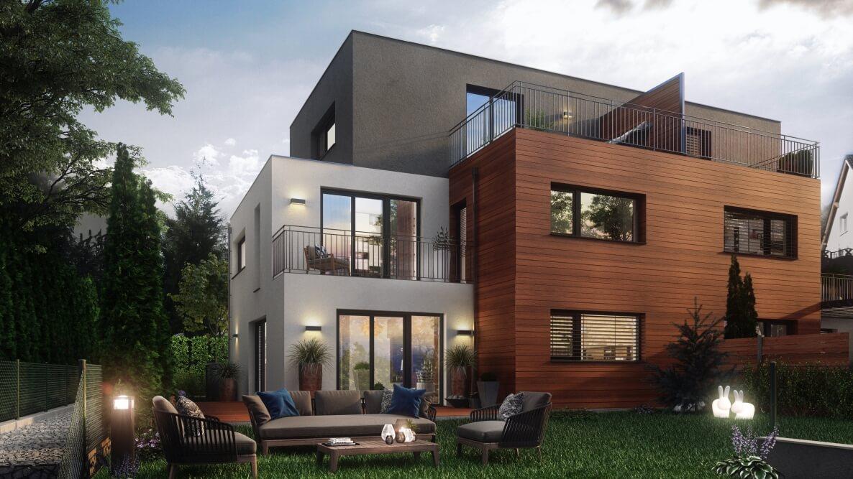 Vytvoření vizualizace rodinného domu