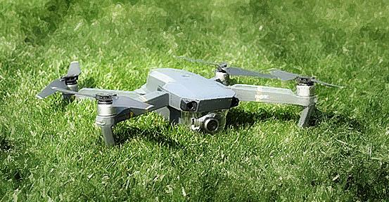 Focení dronem
